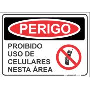 Proibidio Uso de Celulares nesta Área