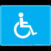 Placa Acessibilidade Cadeirante