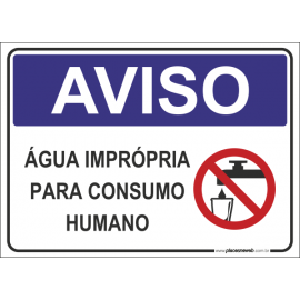 Água Imprópria Consumo Humano