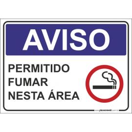 Permitido Fumar Nesta Área