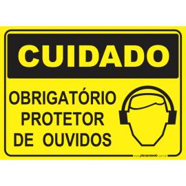 Obrigatório Protetor de Ouvidos