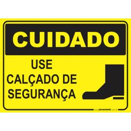 Use Calçado de Segurança
