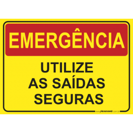 Utilize as Saídas Seguras