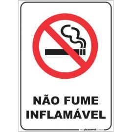 Não Fume Inflamável