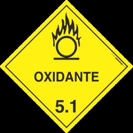 Placa Transporte de Risco Oxidante 5.1