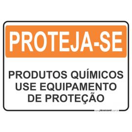 Produtos Químicos Use Equipamentos de Proteção