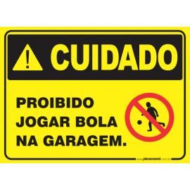 Proibido Jogar Bola na Garagem